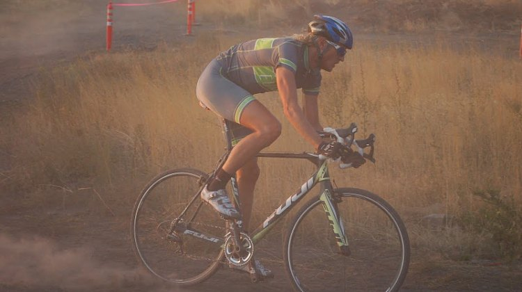 Dusty Utah cyclocross.