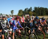 The amateur women on the line at Green Mountain this past weekend. Jeff Bramhall