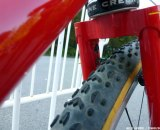 Note the steel fork. © Cyclocross Magazine