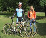 Last week's Zipp OVCX Athletes of the Week Ray Smith and Rachel Dobroszi. Zipp OVCX
