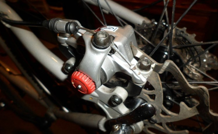 Setting up disc brakes correctly is going to be a big new part of cyclocross. Jason Gardner