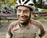 Our newest racer/writer, David Sterry, is a little muddy post-race. Photo courtesy of Flickrs klamath_falls