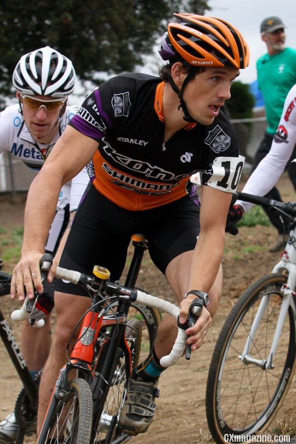 Sean Babcock won the first of the Cross Crusade races. Pat Malach