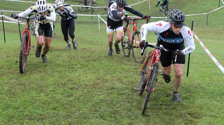 Northeast Racers were treated to true 'cross weather © Keith Hower