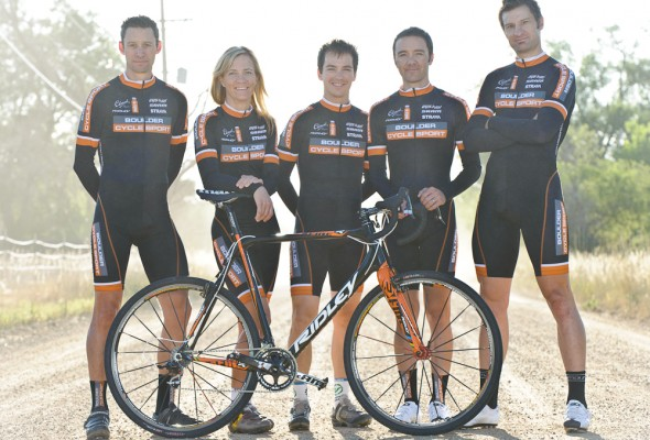 From Left: Pete Webber, Kristin Weber, Allen Krughoff, Brandon Dwight and Greg Keller