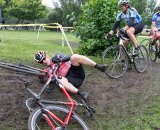 Chaos ensues at Jackson Park Cyclocross. Bill Draper
