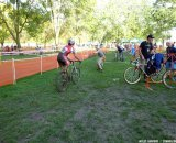 Pitting: doing it right can be just as tough as racing. © Cyclocross Magazine
