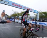 Jeremy Powers takes the win on Day 2 of Gloucester. Cyclocross Magazine