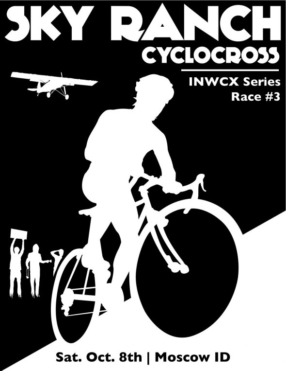 Fountain Brothers Sky Ranch cyclocross poster