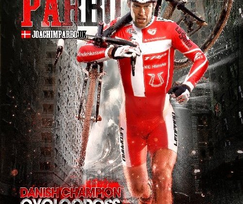 Joachim Parbo's cyclocross card. Photo by Dan Seaton, cxmagazine.com, Graphics by Pieter Pelgrims.