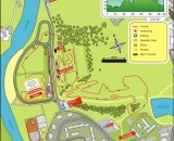 Map of the Tabor World Cup course.