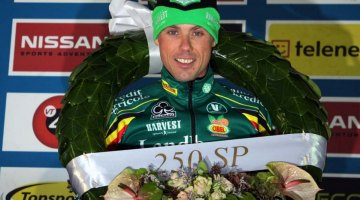 Sven Nys hopes to repeat this weekend at the Super Prestige Gavere. ©Bart Hazen