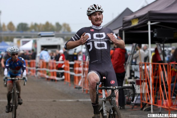 Aaron Tuckerman takes his fifth win (and the overall series) of the eight-race Cross Crusade Sunday. ©Pat Malach