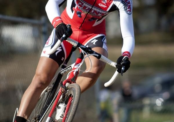Here, Cody Kaiser (California Giant Berry Farms) solos for the win Sacramento Cyclocross Series, Event 6 © Tim Westmore