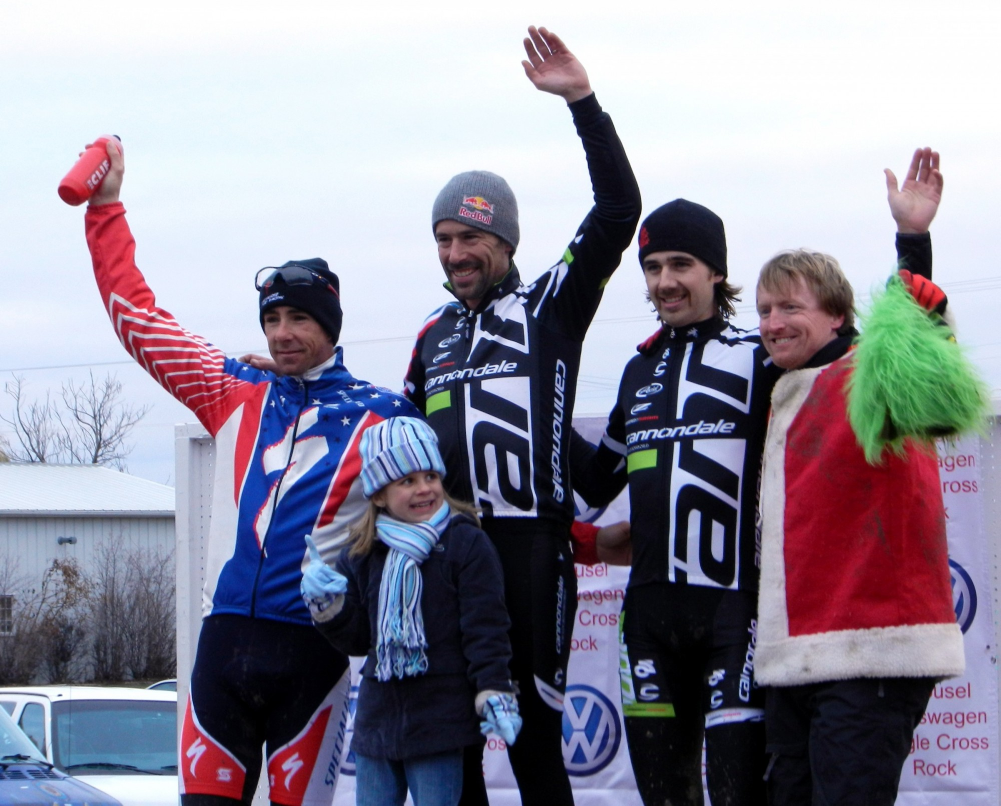Men's Elite podium.