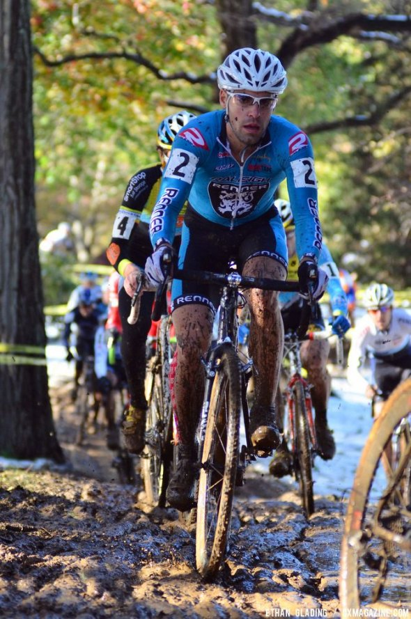 Craig Richey on Sunday (the dry race day) where he finished third at HPCX. Ethan Glading