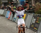 Vos, here winning Superprestige Gieten 2011, took the win in Namur today. Bart Hazen