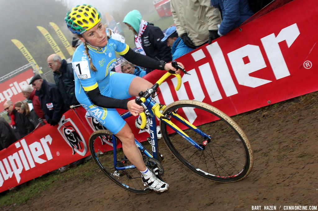 Daphny van den Brand took the win at Hamme Zogge. © Bart Hazen
