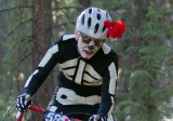 Riders took their costumes very seriously at Day of the Dead Cyclocross. Mike Albright