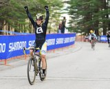 An emphatic win for Andrea Smith.  Natalia Boltukhova | Pedal Power Photography