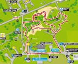 Kosijde Cyclocross World Championships Course Map