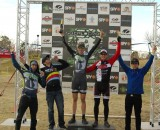 The podium at High Desert Cross. Kenneth HIll