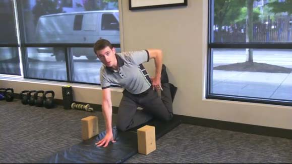 Seth Hosmer demonstrates the four essential stretches for cyclocross back health.