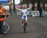 Marianne Vos wins the 2012 Dutch National Championships. © Bart Hazen