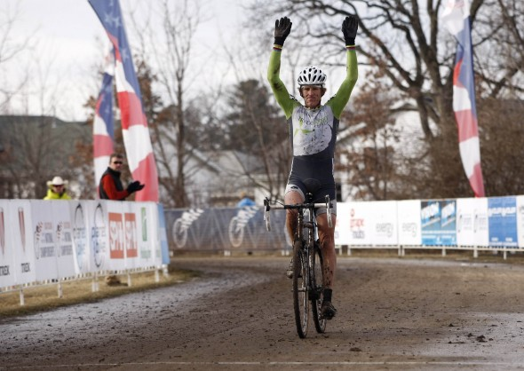 Steve Tilford takes another masters cyclocross national championship - 2012 Cyclocross National Championships, 50-54. © Tim Westmore