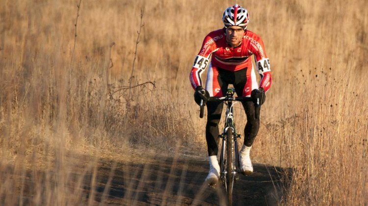 Dylan McNicholas dominated the Masters 30-34 race - 2012 Cyclocross National Championships. © Cyclocross Magazine