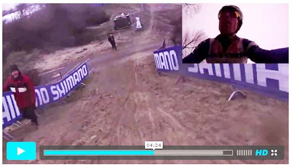 Jeremy Powers previews the 2012 Koksijde Cyclocross World Championship course