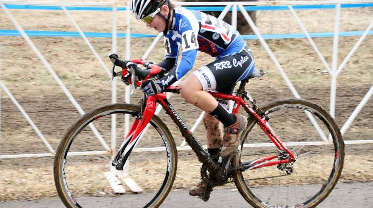 Andrew Schmidt wins the Junior Men 10-12, 2012 Cyclocross National Championships. © Cyclocross Magazine
