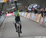 Sven Nys wins the 2011 Superprestige in Hoogstraten, Belgium. © Bart Hazen