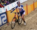 Meredith Miller runs the sand at Worlds. Bart Hazen