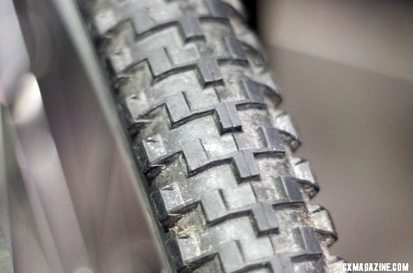 Bruce Gordon is bringing back the Rock 'n Road Tire, a smooth-rolling oversized 700c cyclocross tire. Bruce Gordon Cycles ©Cyclocross MagazineBruce Gordon is bringing back the Rock 'n Road Tire, a smooth-rolling oversized 700c cyclocross tire. Bruce Gordon Cycles ©Cyclocross Magazine