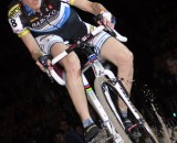 Indoor cyclcross racing. Bart Hazen