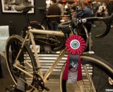 Six Eleven Bicycle Co.'s bike tied with Moots for the Best Cyclocross Bike at NAHBS 2012. ©Cyclocross Magazine