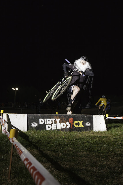 Dirty Deeds gets the seriousness and the fun of cyclocross. Andy Rogers