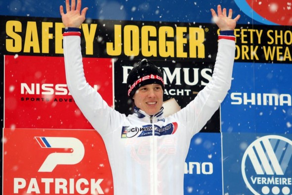 Katie Compton hopes to grab the World Cup leader's jersey while on her new Trek/SRAM team. © Bart Hazen