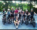 Ladies mountain bike ride. What could be cooler? Christin Christoph