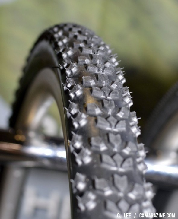 Clement's new MXP cyclocross tread is the company's latest tread designed to be your do-it-all option if you have to choose just one tire. ©Cyclocross Magazine