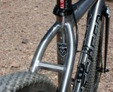A look at the new Litespeed CX ti. © Cyclocross Magazine