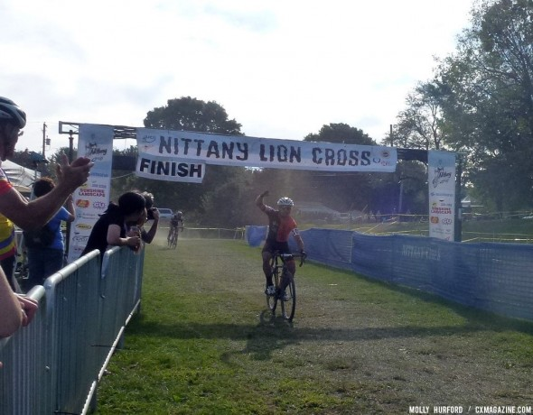 Nieters takes the hotly contested win at Nittany Day 2. Cyclocross Magazine