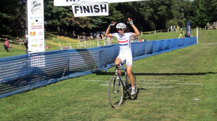 Wyman takes the win at Nittany Day 1. Keith Hower