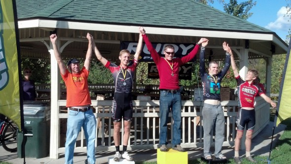 Our very own John Proppe got second step of the podium.