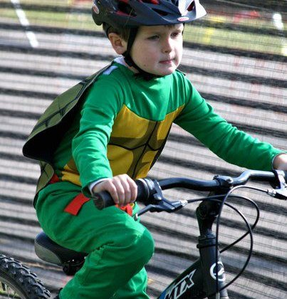 Last year's Junior Ninja Turtle © Marcia Seiler