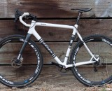 Don Myrah's Ibis Hakkalugi Disc Cyclocross Bike with 324 Labs Hydraulic Brakes. ©Cyclocross Mag