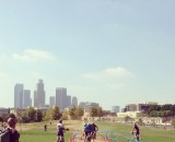 LA as the backdrop for DTLA Historic CX. Brian Co