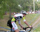 Me, way at the back, at Providence last weekend. Cyclocross Magazine