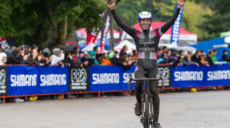U23 Racer Zach McDonald takes the overall win at Day 2 of Providence. Todd Prekaski